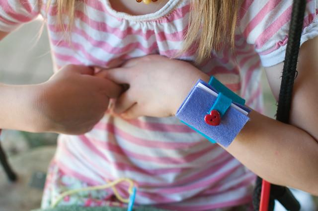 book bracelets