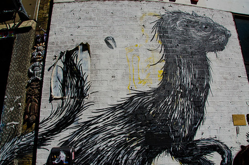 Roa - East London Street Art