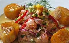 Ceviche de Salmón Palta y Mango 157