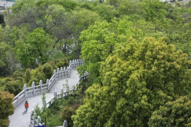 YueJiangLou (阅江楼) 南京, Lion Rock Scenic area, along the south shore of the Yangtze River, Nanjing.