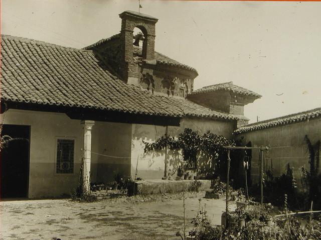 Ermita de San Eugenio a comienzos del siglo XX. Foto Rodríguez
