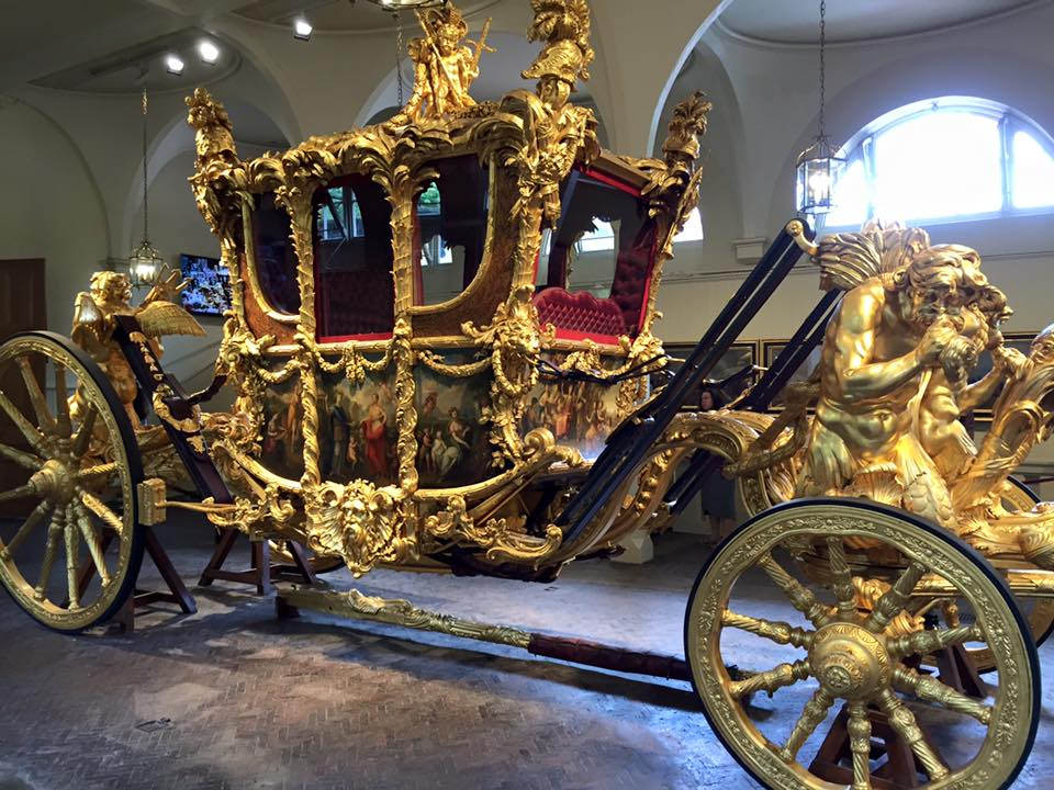 Royal Carriage. at Buckingham Palace. Credit eltpics