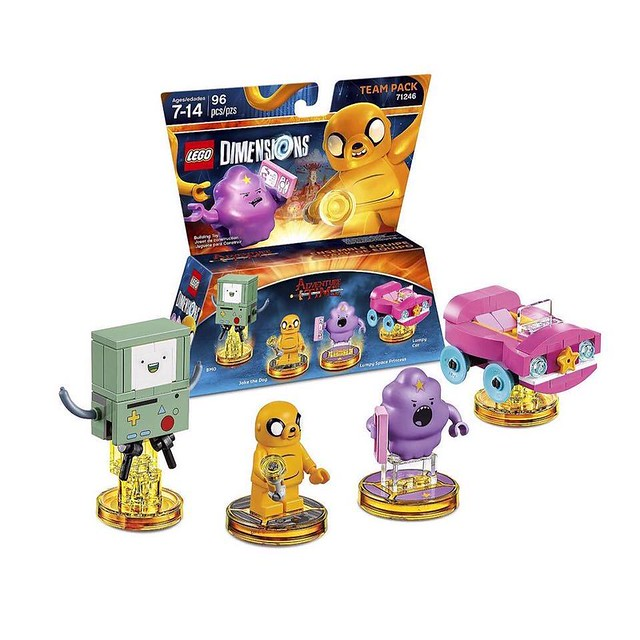 LEGO® Dimensions【探險活寶】Adventure Time Level-Pack & Team-Pack