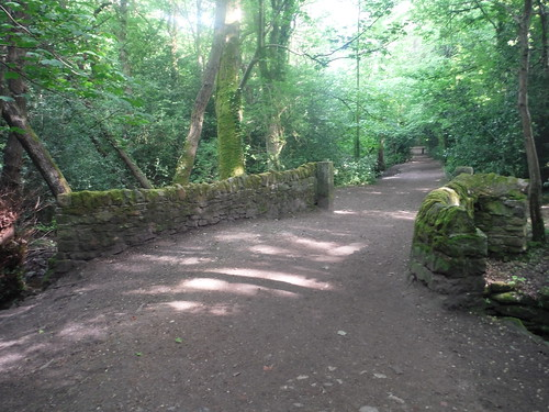 Grade II listed packhorse bridge, Ecclesall Woods