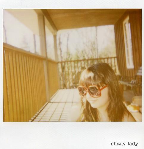 polaroid - shady lady