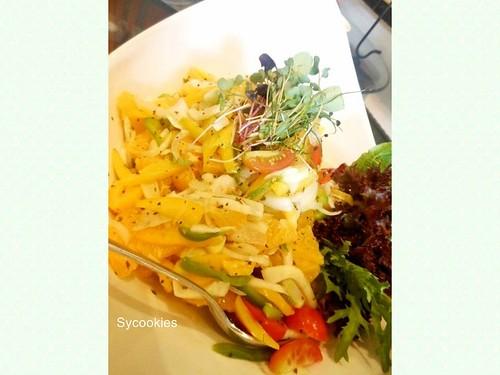 10.orange salad