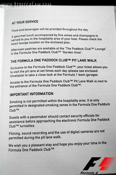 Formula 1 Paddock Club experience-003