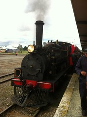 Little Steam Train, at Woodville