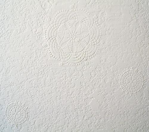Medallion on Hallway Wall