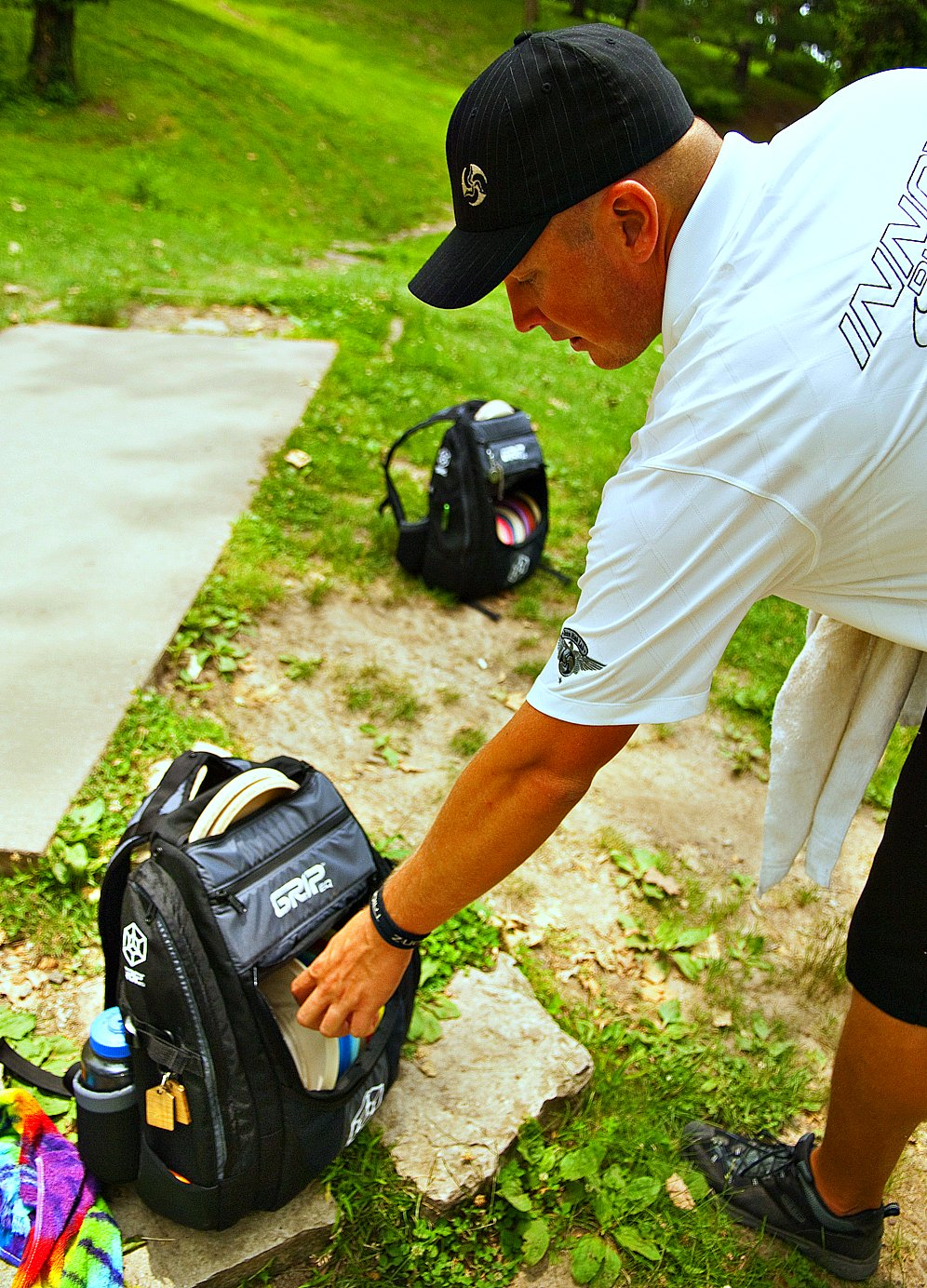 Disc Golf Bags | Grip Equipment | Avery Jenkins
