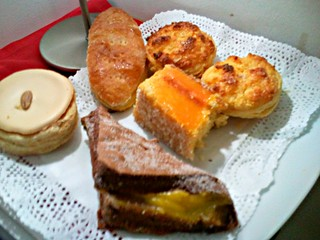 Yummy pastries selection at Hotel Santa Maria Faro