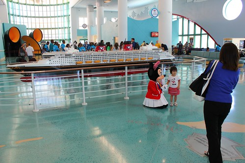 Minnie Mouse at Port Canaveral