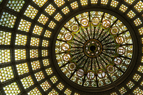 Tiffany Dome @ Chicago Cultural Center