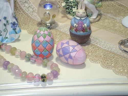 Le lapin et les œufs de Pâques avec les rhombes by Calogero Mira