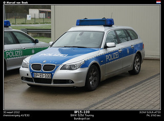 German Police - BMW 525d Touring (BP15-100)