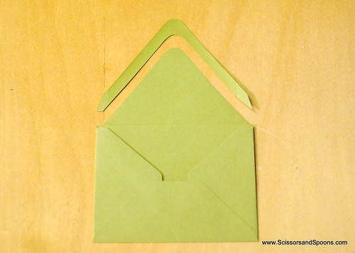 Creating An Envelope Liner Template    And A Watercolor Chevron