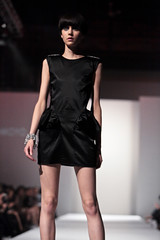model, cocktail dress, runway, fashion, fashion show, little black dress, fashion model, dress,