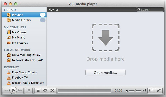 Customizing vlc for mac 1st update felix paul khne so if you dont want to use the newly introduced sidebar you can easily get rid of it just grab the devider between drop zone and sidebar ccuart Images