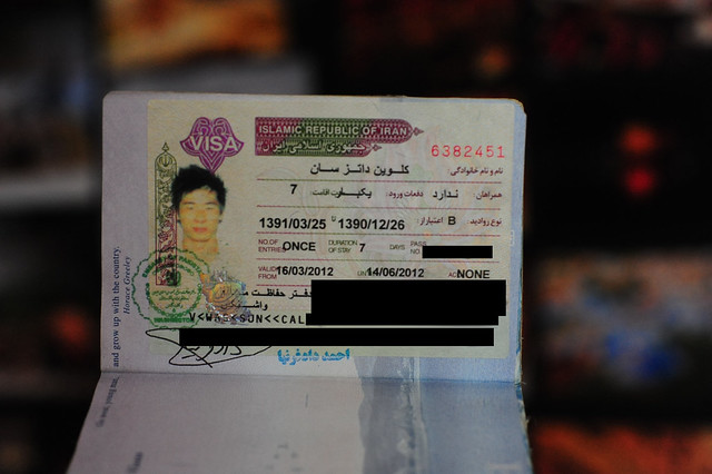 The Iranian Visa For Americans