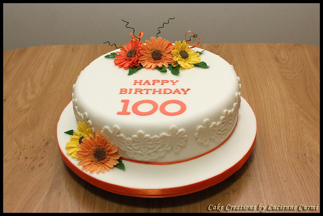 100th Birthday Cake Images