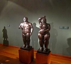 Statues - Botero Museum, Bogota, Colombia