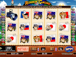 Roamin' Gnome slot game online review