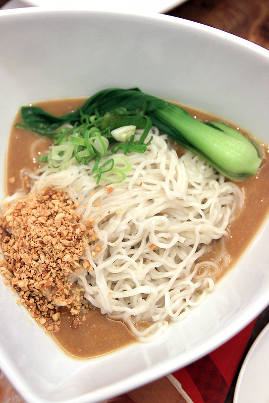 Shi Lin Noodles with Sesame and Peanut Sauce