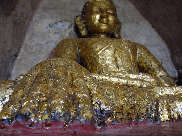 Golden Buddha at Shwegugyi