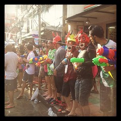 Songkran 2012 Khaosan road
