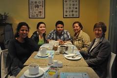 L'últim esmorzar a Bogotà de l'Àlex i la seva dona abans de marxar a Canadà
