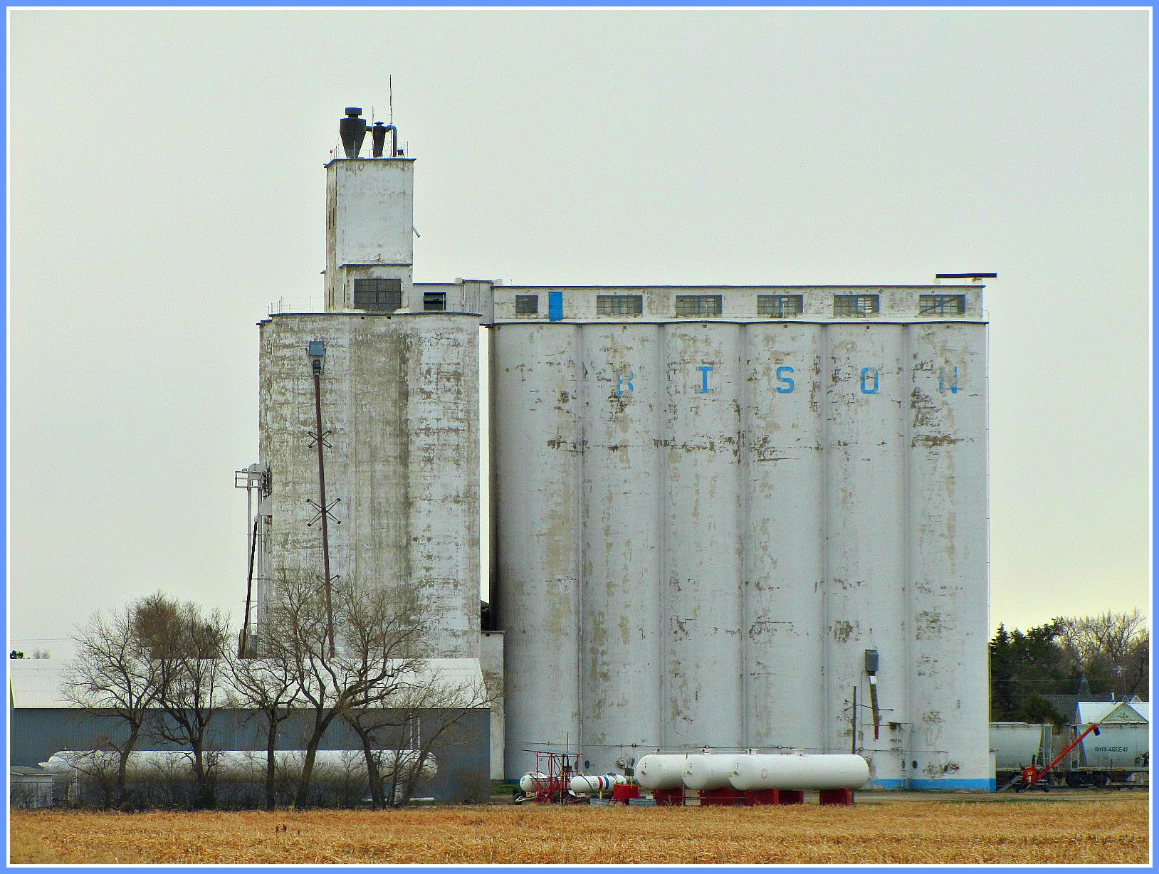 Kansas rush county otis - Concrete Kansas Agriculture Elevators Bison Smalltown Grainelevators