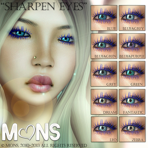 MONS / Sharpen Eyes (fatpack) by Ekilem Melodie - MONS