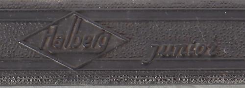 Halberg portable typewriter