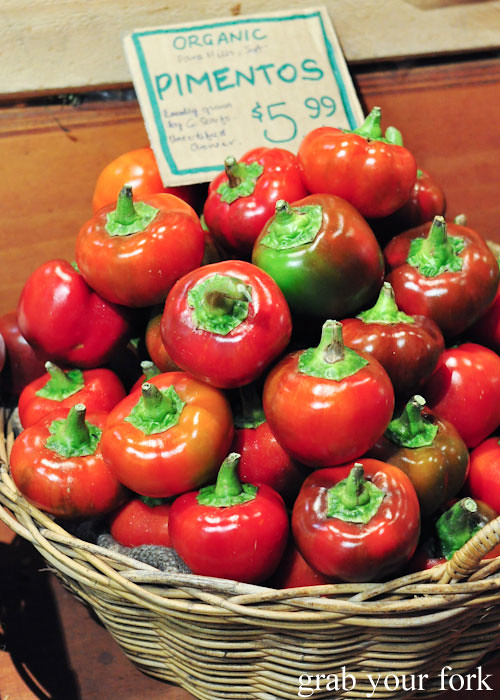 Pimentos at Adelaide Central Market