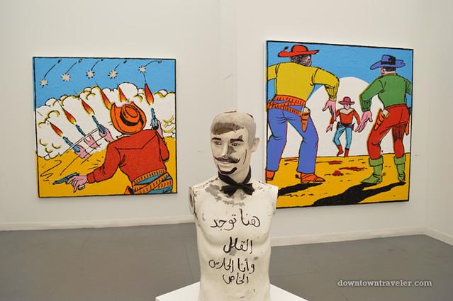 2012 Frieze New York City Art Fair Farhad Moshiri and Huda Lutfi