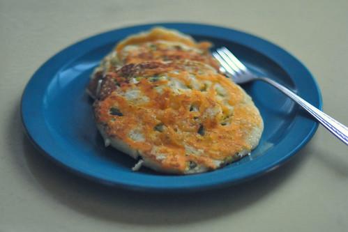 jalapeno cheddar corncorncakes