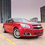 2013 Chevrolet Malibu Eco Earns Five Star Safety Rating
