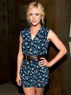 Brittany Snow Jumpsuit Celebrity Style Women's Fashion