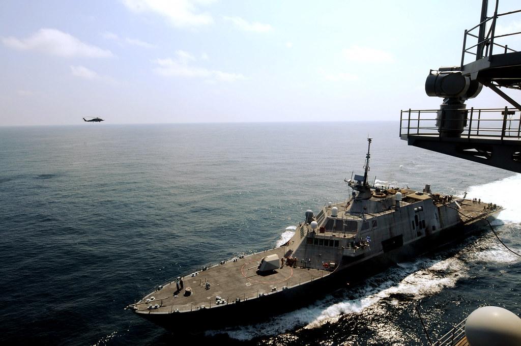 USS Freedom (LCS 1) USS Carl Vinson (CVN 70)