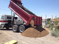 10 Tons of Sand Being Delivered by mikeysklar