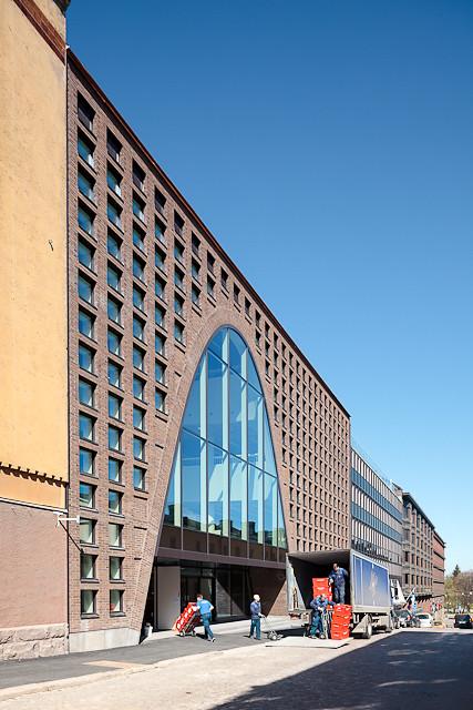 Helsingin Yliopiston keskustakampus Kaisa-kirjasto