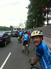 The final mile: rolling toward the U.S. Capitol