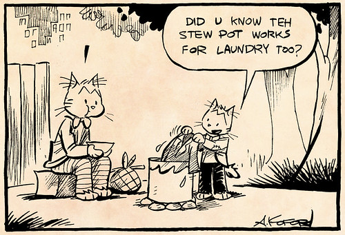 Laugh-Out-Loud Cats #1966 by Ape Lad