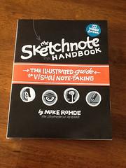 The Sketchnote Handbook Cover: Mockup