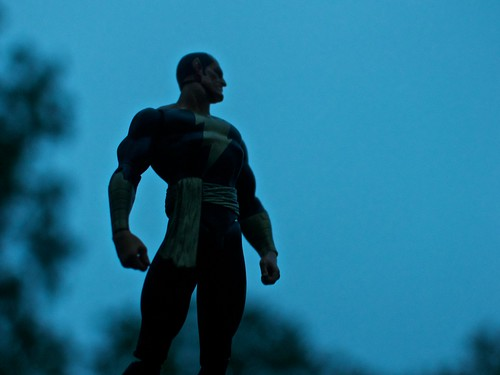 Black Adam Surveys His Realm