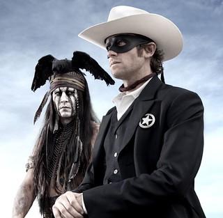 Jerry Bruckheimer's Twitter Pic of The Lone Ranger