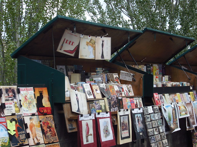Stall by the Seine