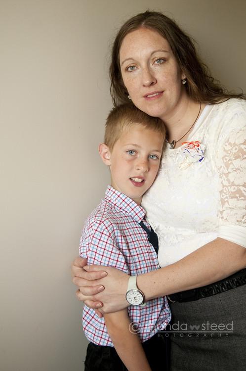Alden & Mom May 2012
