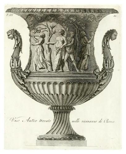 021-Manuale di varj ornamenti componenti la serie de' vasj antichi…Vol 3-1740-Carlo Antonini