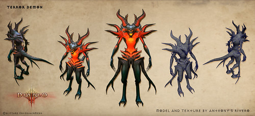 TerrorDemon From Diablo 3 by anthonysrivero